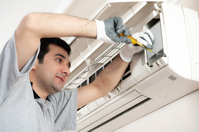 Repair and maintenance of air conditioner service