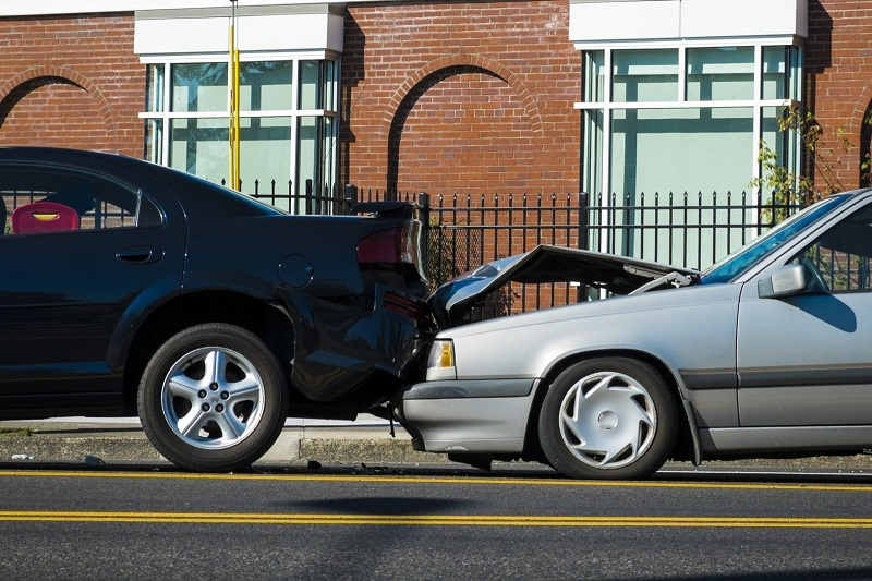 Traumatic brain injury after a car accident