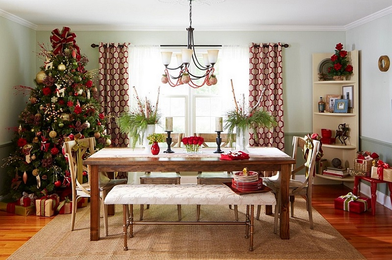 Spectacular living room decoration ideas for Christmas