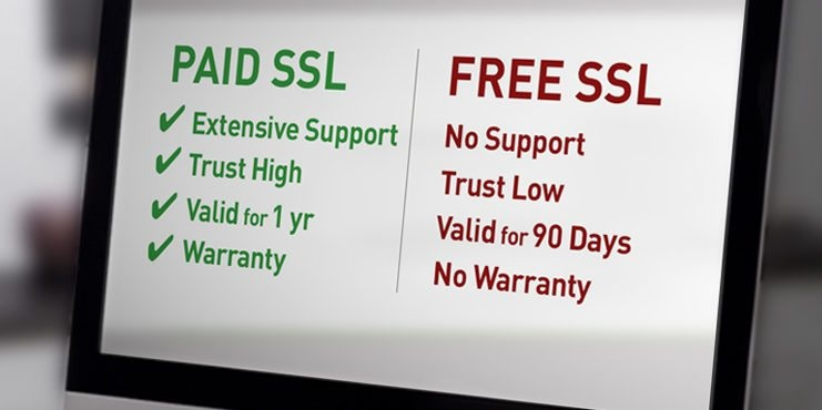 What is the Difference between Free SSL and Paid SSL?