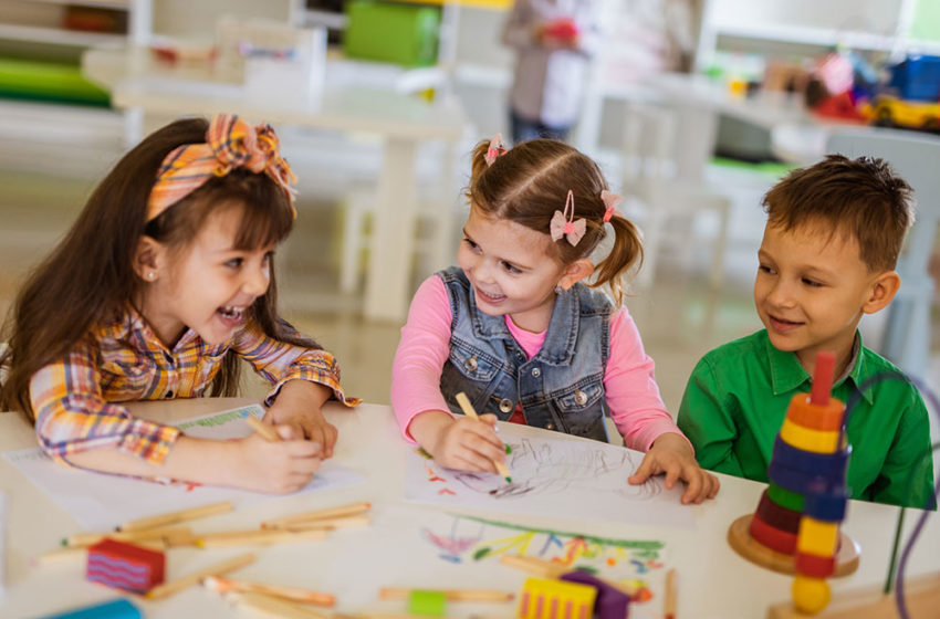 Building Up the Right Communication Skills with Kindergarten
