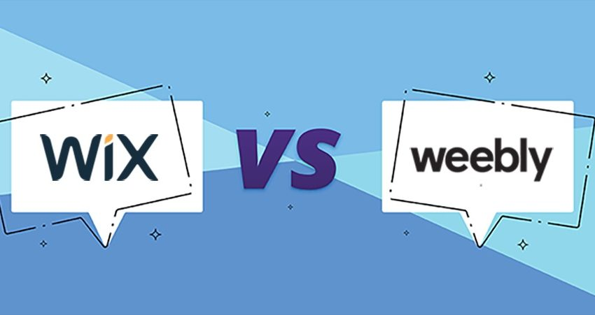 Brief Outline of a Comparison between Wix&Weebly