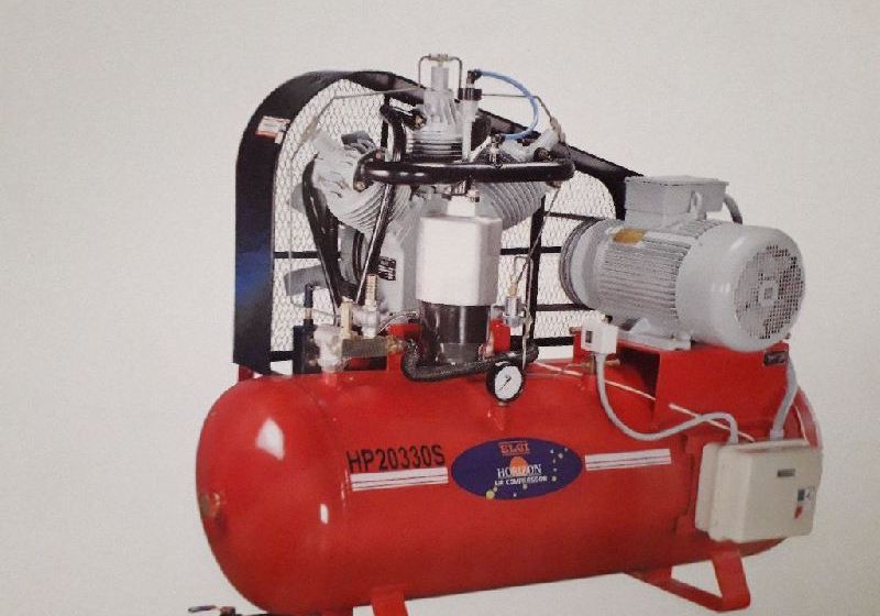 What is a two stage air compressor?
