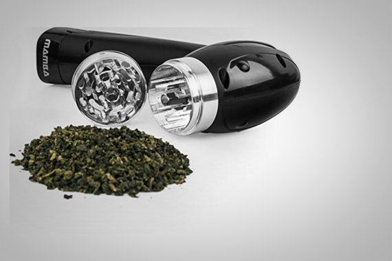 Mamba Electric Grinder:  Marijuana Grinder For People With Arthritis