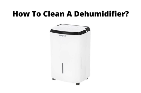 How to clean a dehumidifier?
