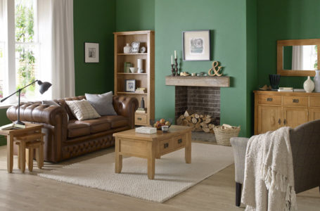 Why did you choose oak furniture for your house?