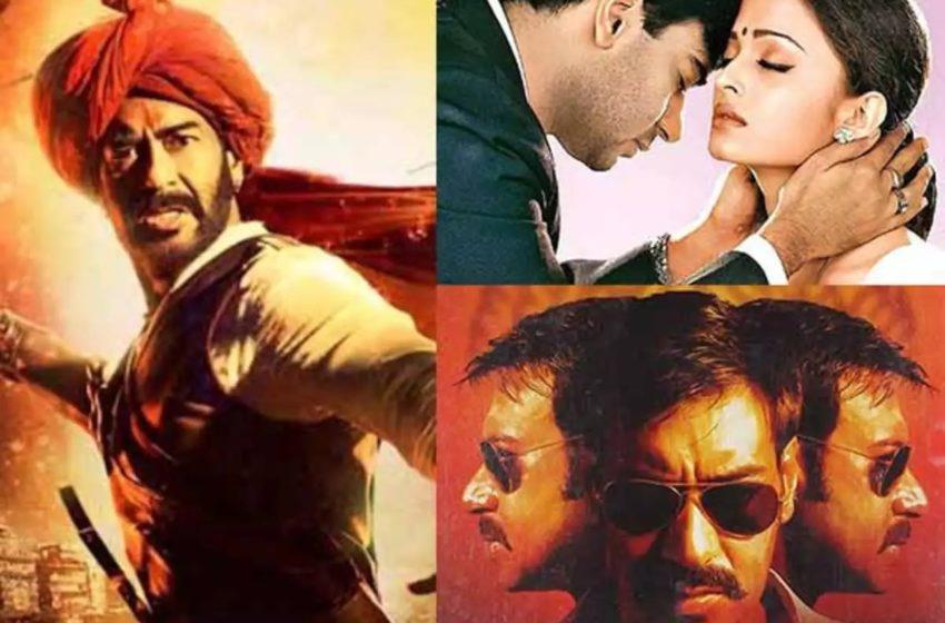 Top 10 Movie of Ajay Devgn on Hotstar