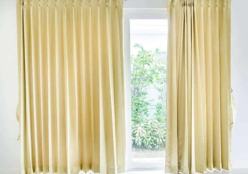 How to get wrinkled out of curtains?